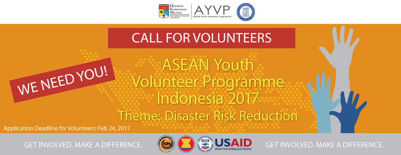 Calling For AYVP Indonesia 2017 Facilitators & Volunteers!