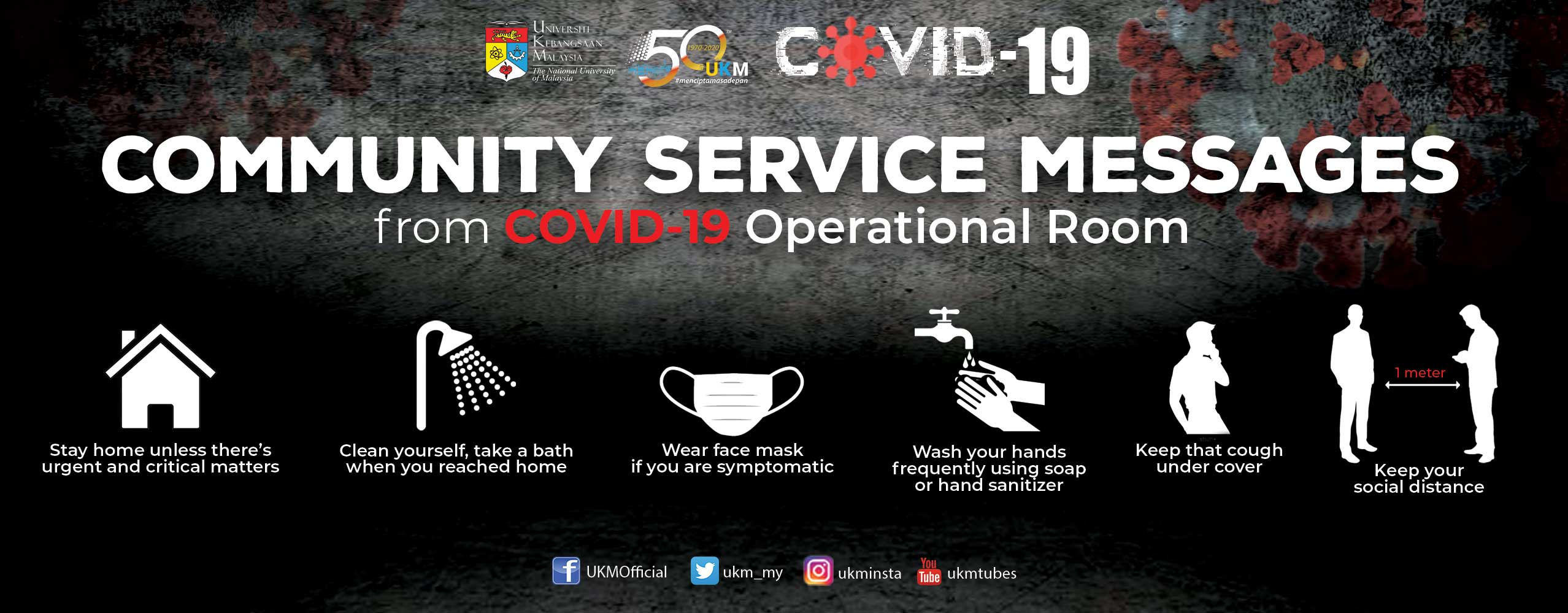 COVID-19 Message from UKM